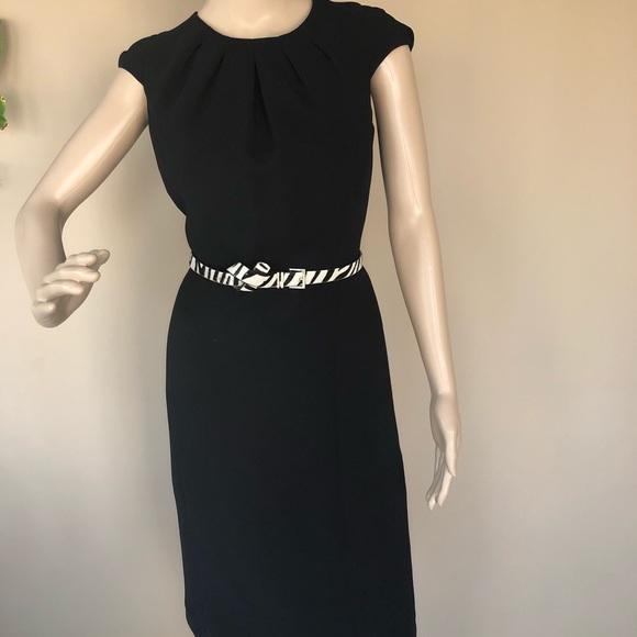 Classic Black Cocktail Dress